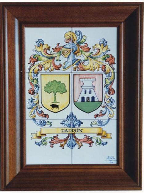 escudo del apellido padrÖn