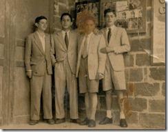 27.- Cine EP. Luis Llamas, Javier, Róncano, Pancho