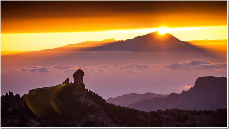 Teide y Roque Nublo