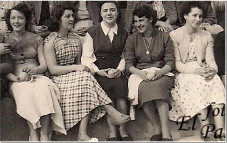 Cuatro damas amigas