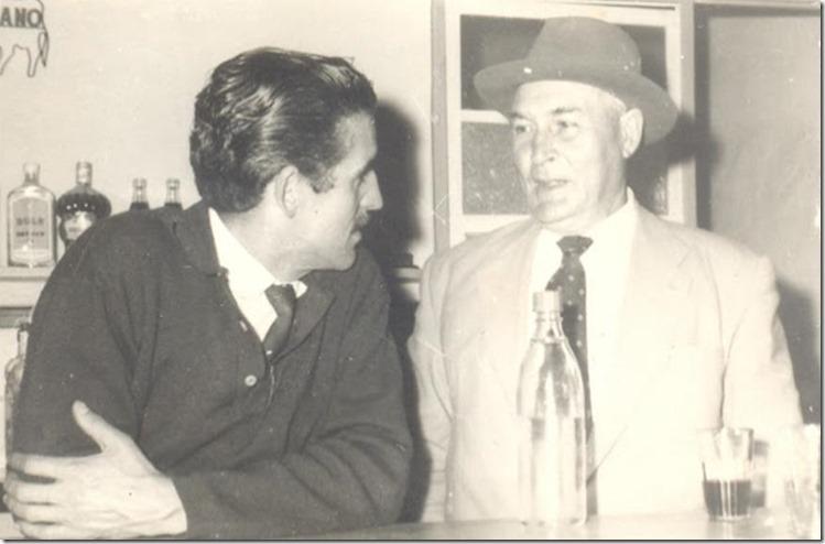 50s. Tito Monterrey y Vicente Santana