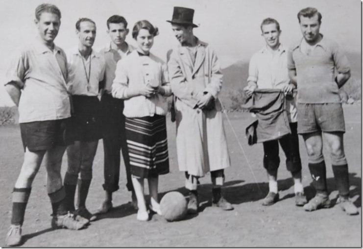 1950s. Madrina del Atlético Paso