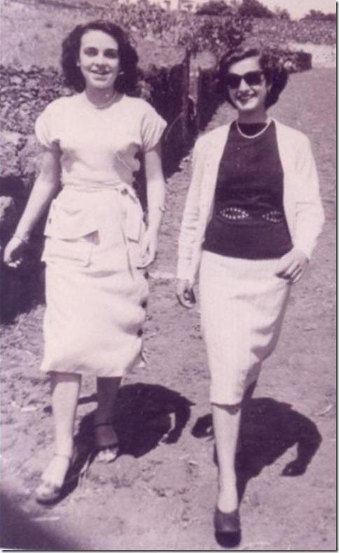 Blanca Rosa y Violeta