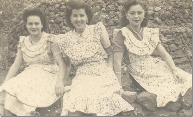 Ma. Carmen, Juana y Carmen Gloria
