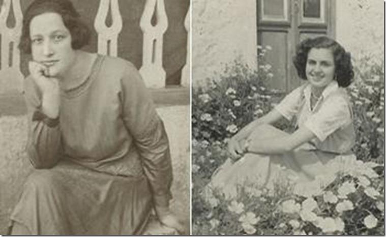 Blanca Capote y Alicia Padrón