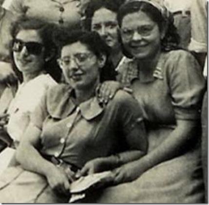 Zoraida, Andrea, María Celia