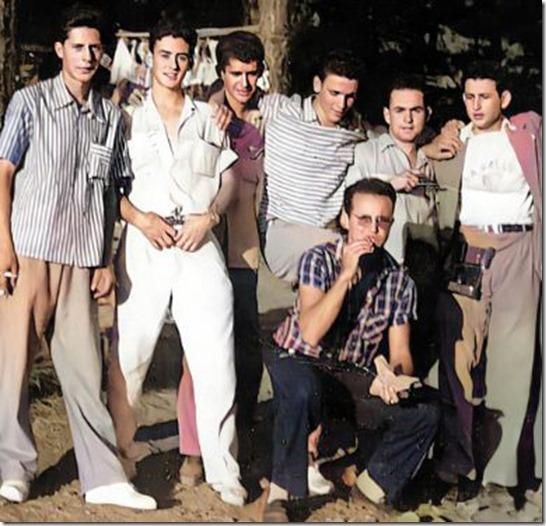 7 amigos en Pino de La Virgen