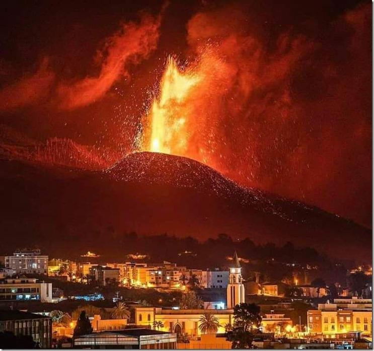 El Paso bajo el volcán