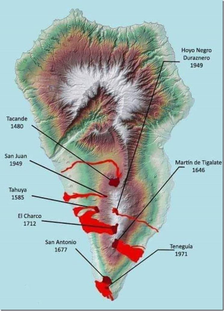 Volcanes de La Palma