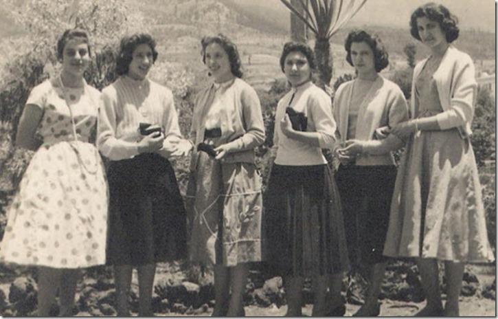 Seis muchachas pasenses